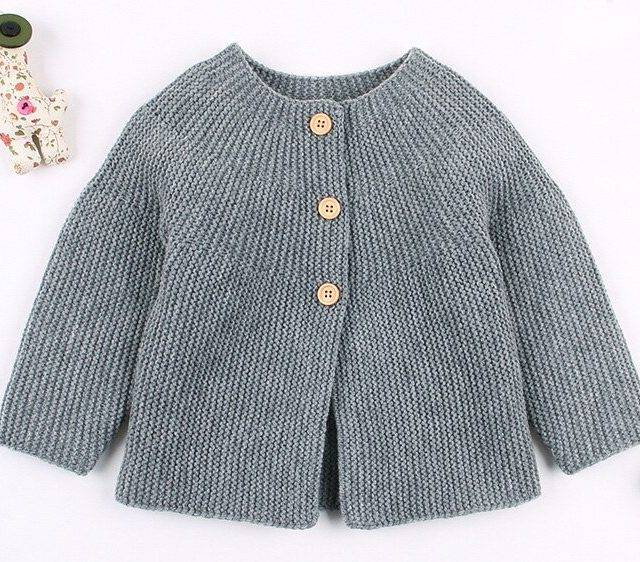 2019 Spring Autumn Baby Girls Sweater Cardigans Long Sleeve Newborn Knitted Jackets Toddler Infant Boys Knitwear Coats BC529