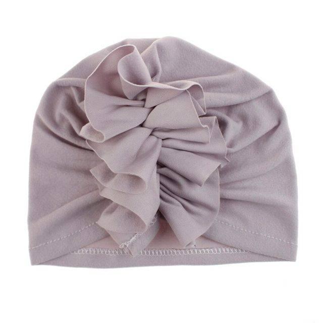 Frill-turban-gray
