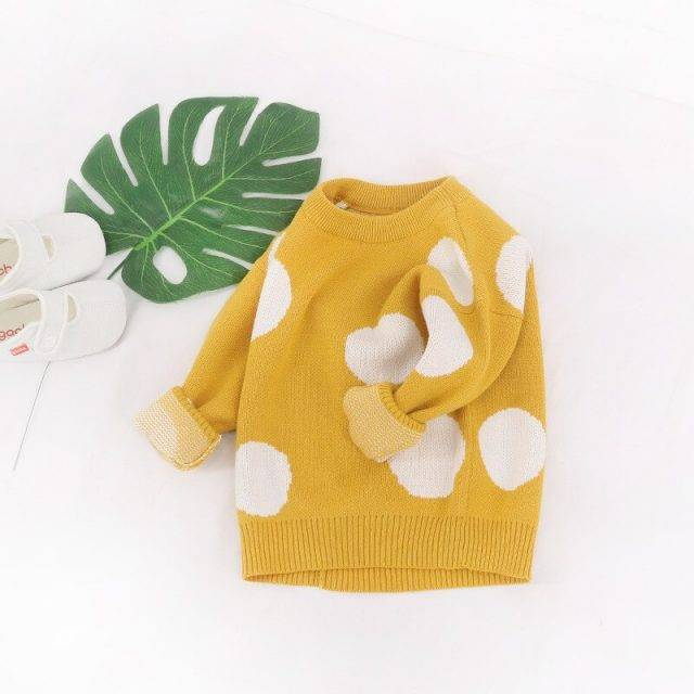 Spotty Sweater Knit